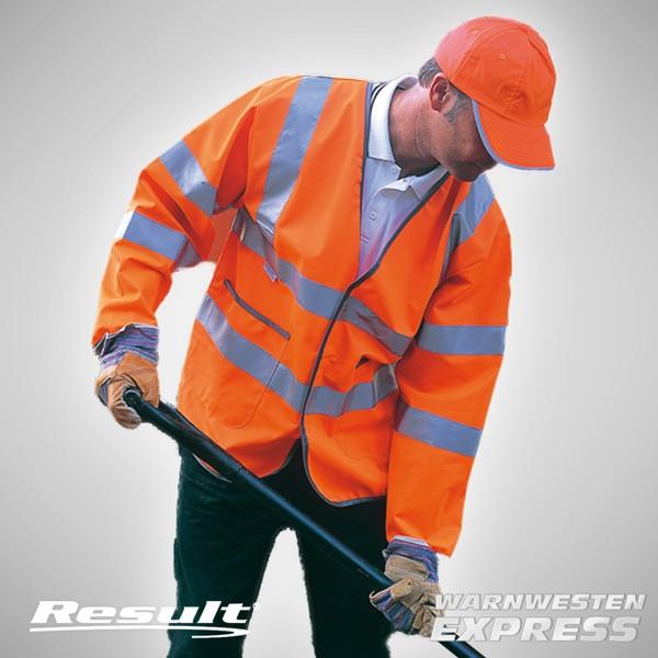 Sicherheitsjacke - Lightweight Motorway Safety Jacket EN471 - Result