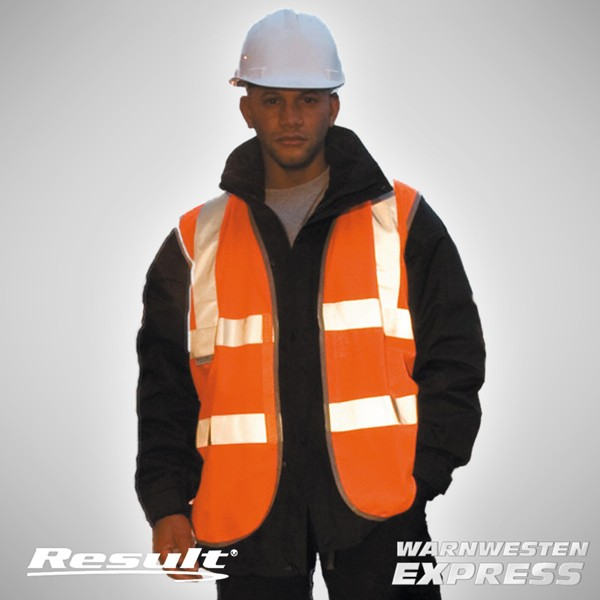 Warnweste - Safety Hi-Vis Vest EN471 - Result