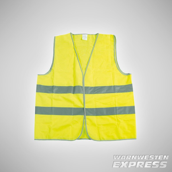 Warnweste - High Visibility Sicherheitsweste - Unisize