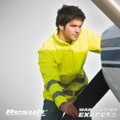 Sicherheitsjacke - High Visibility Softshell Jacke - Result